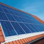 Un panneau solaire photovoltaique