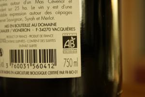 """L'affichage de la mention """"contient des sulfites"""" est obligatoire au-delà du seuil de 10mg/L"""