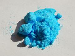 Le sulfate de cuivre utilisé dans la bouillie bordelaise