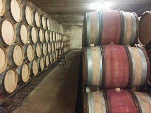 L'élevage du vin un fûts de chêne