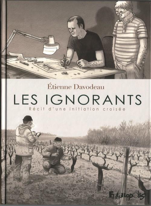 """1ère de couve de la bande dessinée """"Les Ignorants"""""""