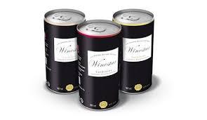 Winestar lance en France une gamme de 3 canettes de vin: rouge, blanc, rosé du Château de l'Ille (Corbières). Osé !