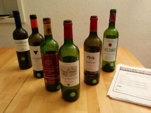 Les six vins en compétition