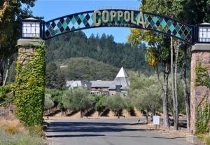 la Francis Ford Coppola Winery, un véritable parc d'attraction pour la classe moyenne américaine