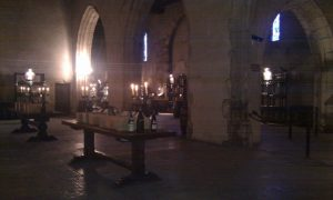 Salle des Chapitres, dans l'ancienne église des Cordeliers