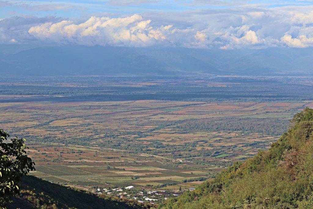 La Kathétie est la principale région productrice de vin en Géorgie