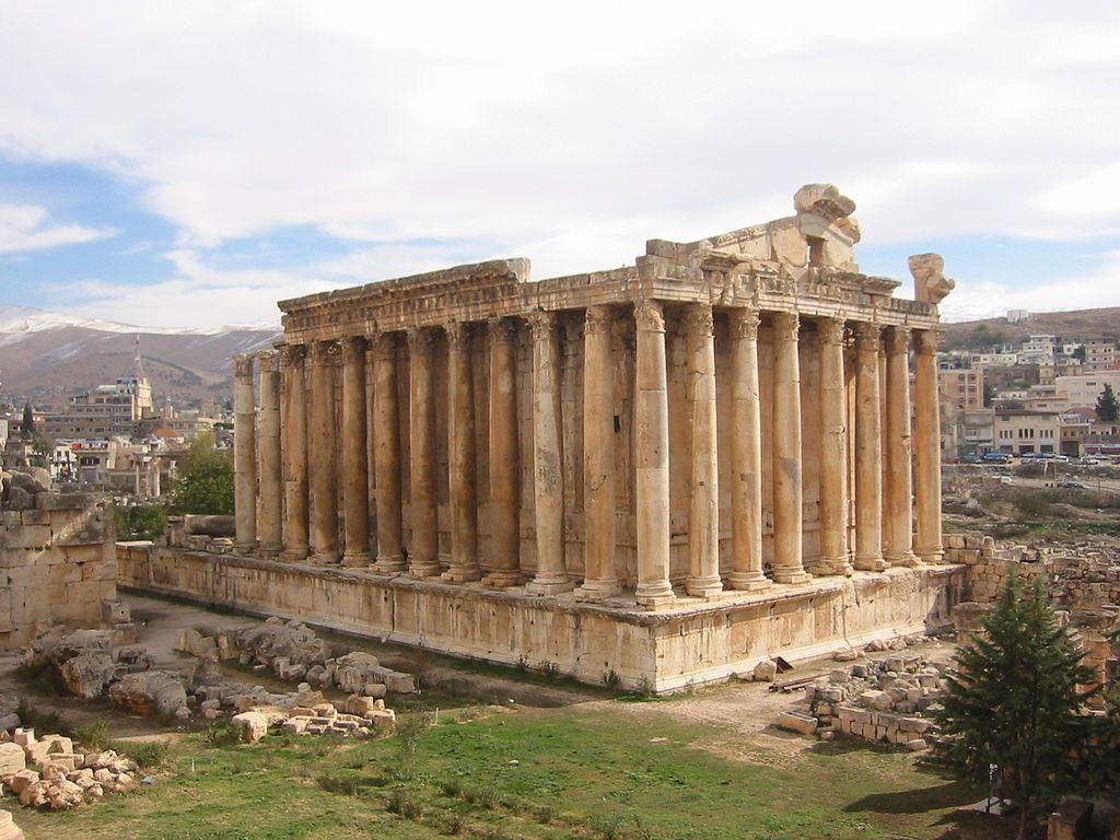 Le temple de Bacchus à Baalbek témoigne de la puissance symbolique du vin à l'époque romaine