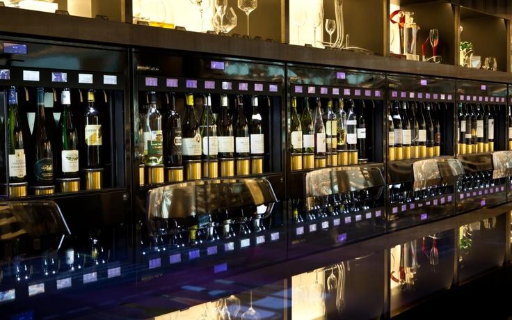 ditributeur de vin au verre pour la restauration