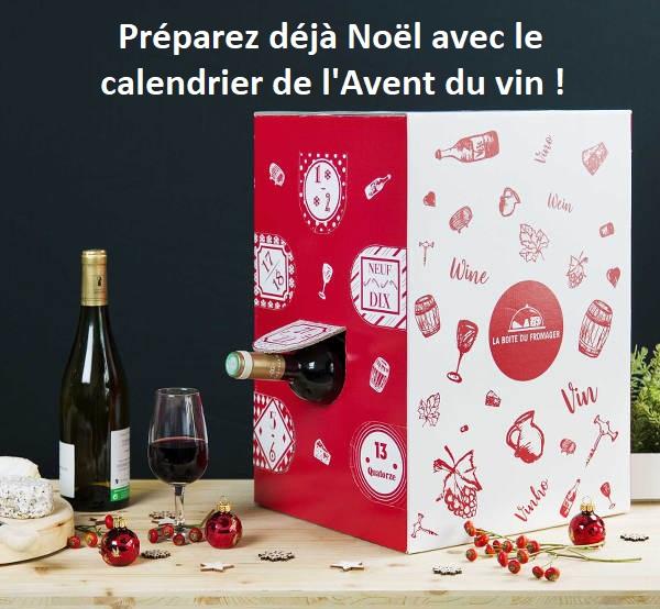 Préparez déjà Noël avec le calendrier de l'Avent du vin !